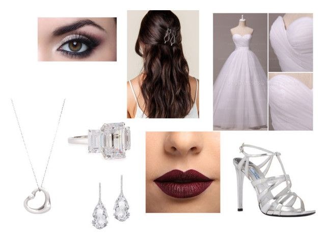 wedding by jill-nicole-1 on Polyvore featuring Prada, Fantasia by DeSerio, Plukka, Tiffany & Co. and LASplash