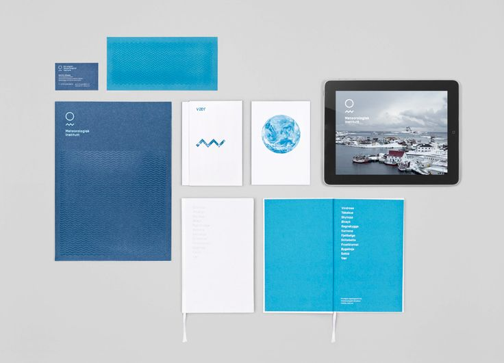Print designed by Neue for the Norwegian Meteorological Institute.