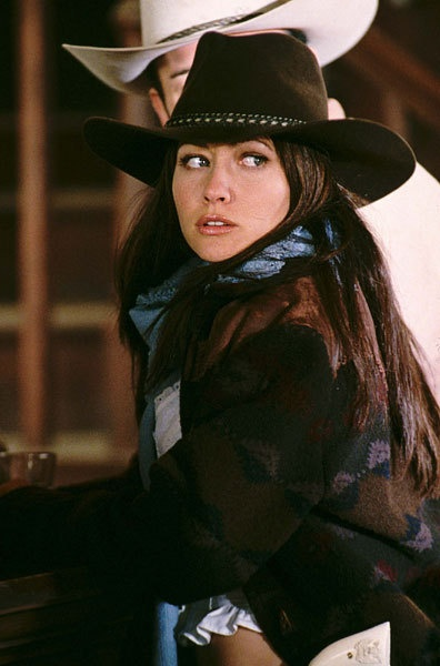 Cowboy Prue. I wish she didn't die. It would be cool if all four of them were together.