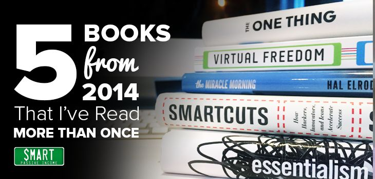 I've read (or listened to) a lot of books recently, but there are a handful of books that I've went through more than once. Here's a list of 5 books that I re-read in 2014, and why I decided to double up on them.