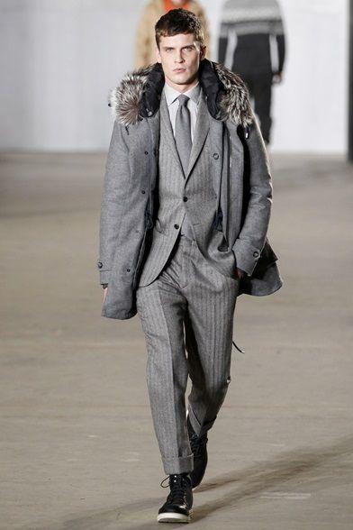 Sfilata Moda Uomo Todd Snyder New York - Autunno Inverno 2016-17 - Vogue