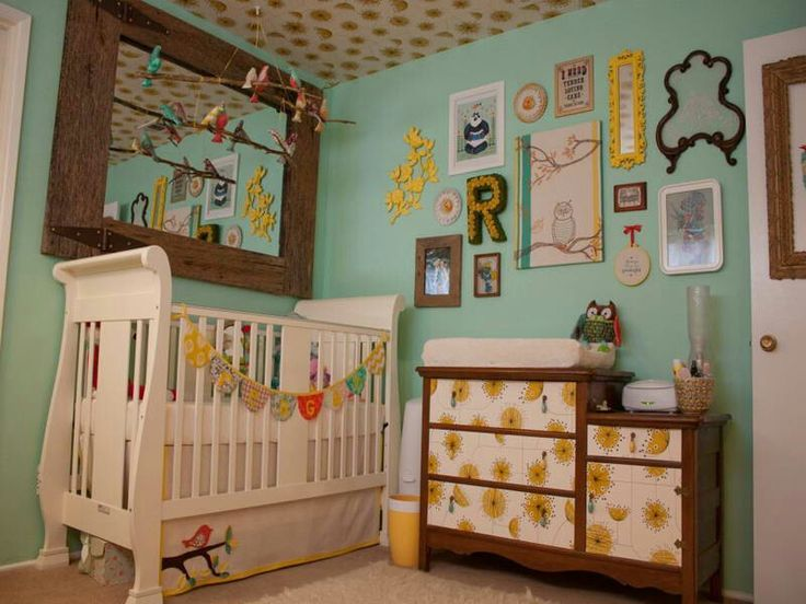 Perfect A baby room that can easily transition to pre teen years