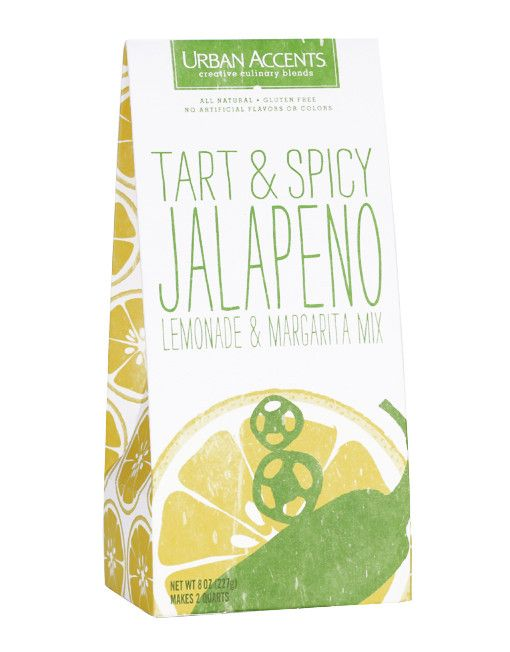 Jalapeño lemonade mix - all-natural lemonade mix has a not-too-hot taste that combines tart lemon with a spicy jalapeño backnote…it's also a great ingredient for Margaritas!