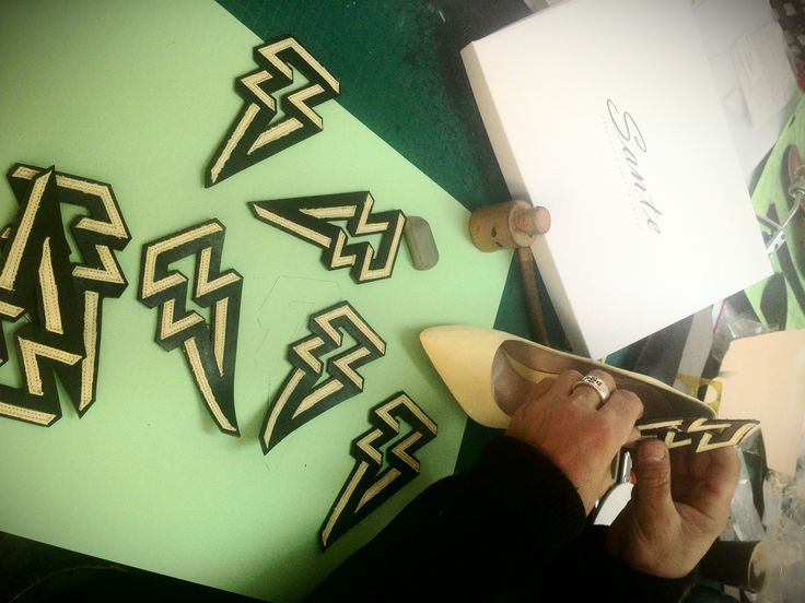 The Making of Mystyleforecast pumps by Sante Shoes for TONI&GUY fashion show #exclusive