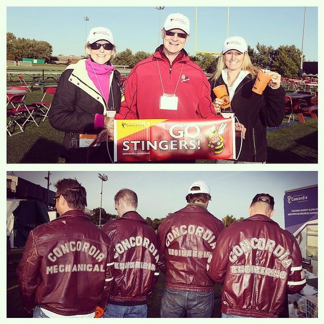 Check out the photos from the #Concordia's #AlumniZone at the #Stingers #CUhomecoming game! #Homecoming
