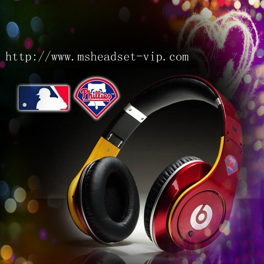 Monster beats by dre studio Philadelphia Phillies headphones