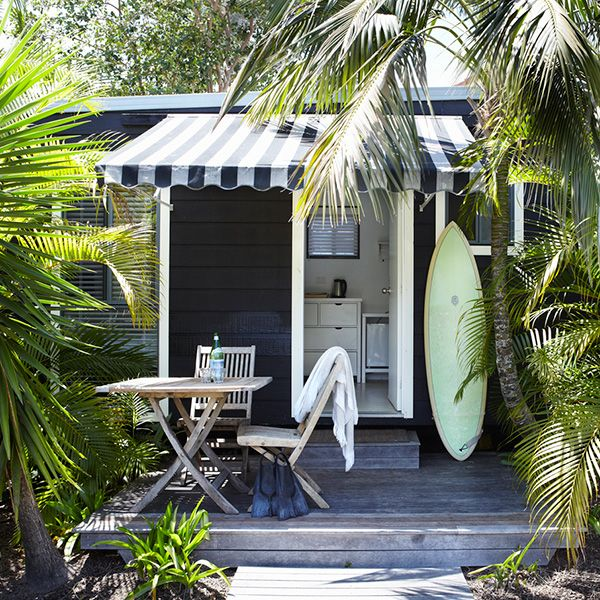 Mix Scandi design with the surf culture of Byron Bay, Australia, and you get the boutique hotel Atlantic Byron Bay. Oh, and did we mention the Airstream trailer for two?