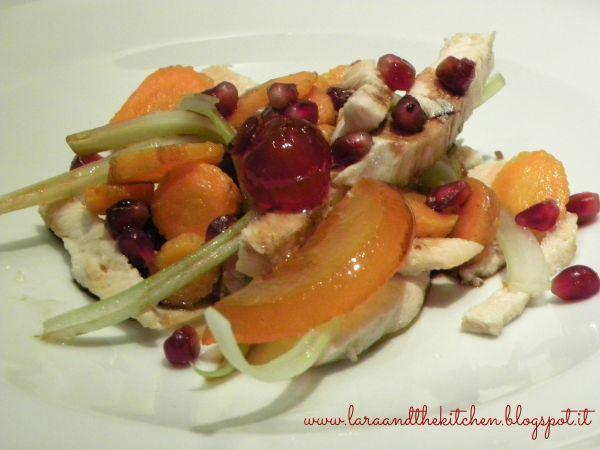 Per stupire gli ospiti con un'insalata sfiziosa di antipasto ! Insalata di pollo melograno e aceto balsamico di modena igp ==> http://www.petitchef.it/ricette/antipasto/insalata-di-pollo-melograno-e-aceto-balsamico-di-modena-igp-fid-1544626 #antipasto #petitchef #ricetta #inslata #pollo #balsamico #aceto