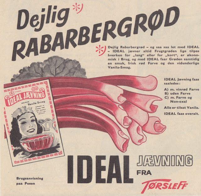 Tilbage til Datiden - gamle danske reklamer og andet godt: 50'erne