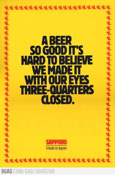 Good beer!