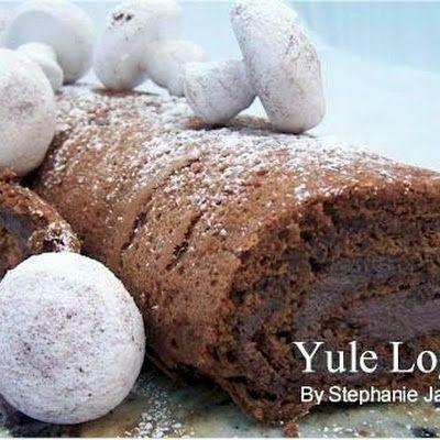 Buche de Noel From Joy of Baking