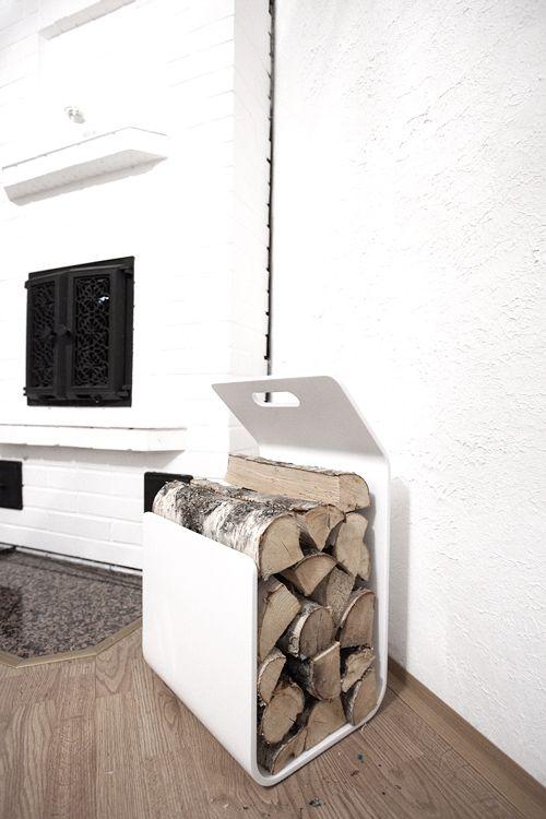 'Kanto' from Artek - firewood/ magazine rack