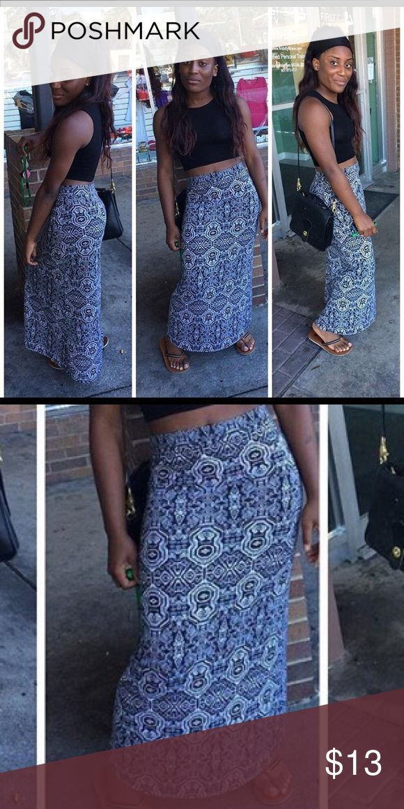 Aztec Maxi Skirt Cute with any outfit! Exactly as shown Skirts Maxi
