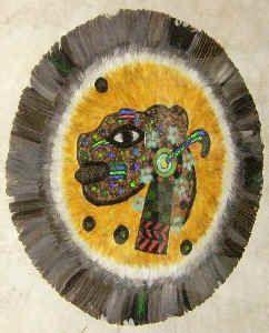 Exhiben arte plumario en el Museo del Ferrocarril de Tulancingo