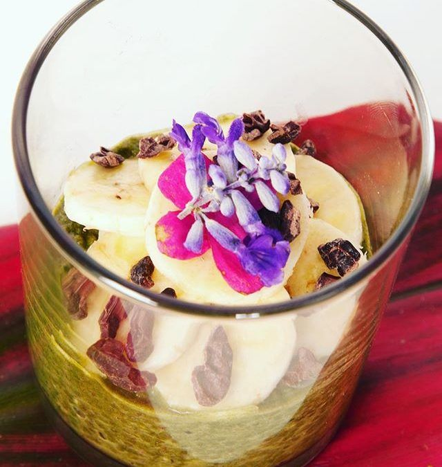 chia Seed Pudding By @wildcookery