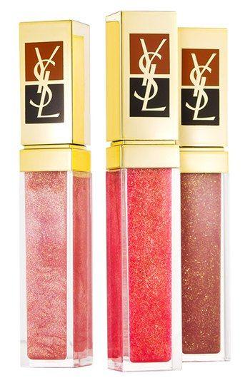 Yves Saint Laurent 'Golden Gloss' Lip Trio ($90 Value) available at #Nordstrom