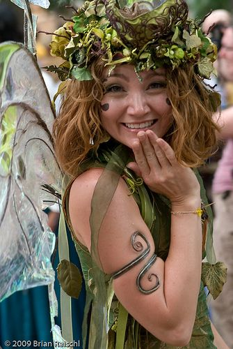 Excellent Dryad Costume