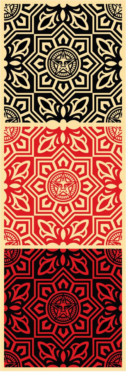 Venice Pattern Set, Shepard Fairey
