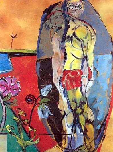 David Hockney   The Neo-Cubist
