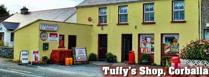 Tuffy's shop, Corballa - maybe closest shop to chalet?