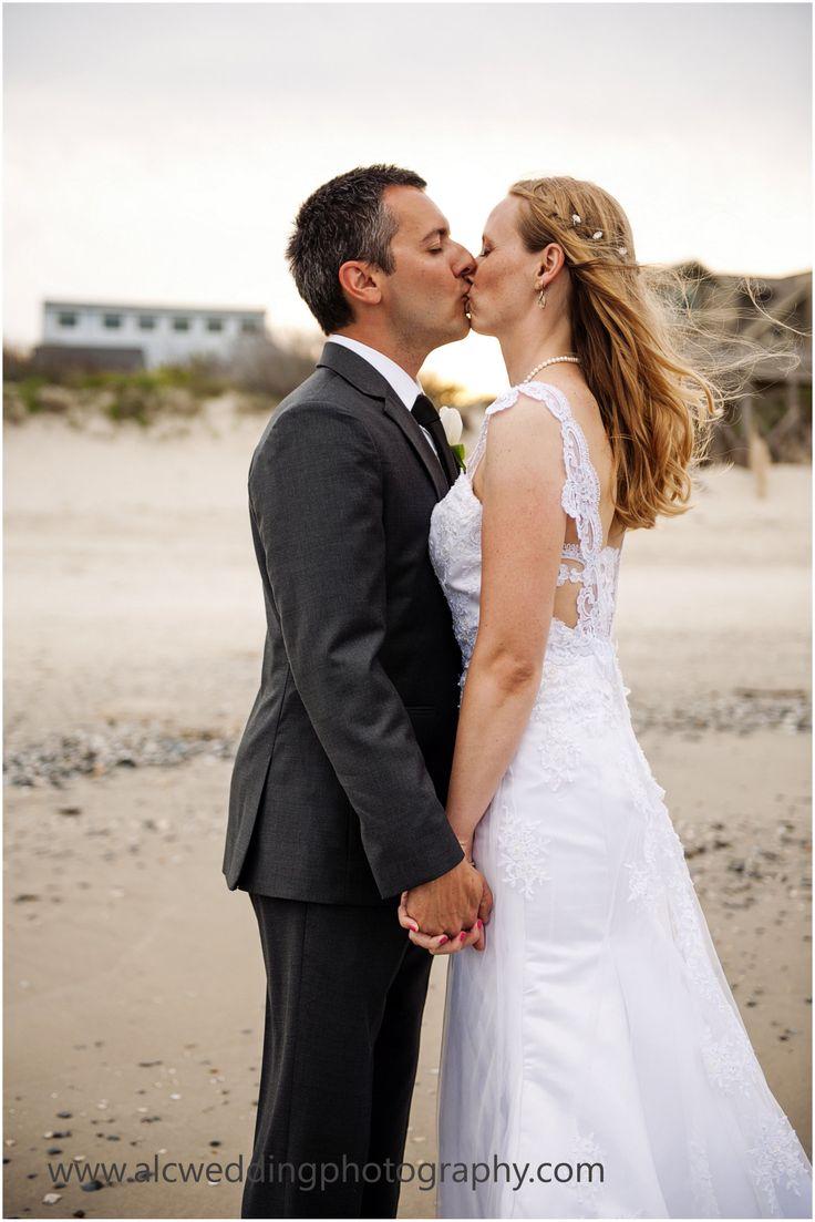 Beach Wedding (Corolla, NC) BG---LOVE,  Outer Banks Weddings, OBX Weddings, Beach Weddings, Outer Banks Beach Weddings, Beach Weddings, Bride and Groom, Bride, Groom, Coastal Wedding, Veil, Southern Weddings, NC, OBX