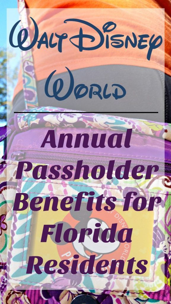 Consider a Walt Disney World annual pass? If you are a Florida Resident, the benefits are even greater! Check out our reasons to get a WDW A...
