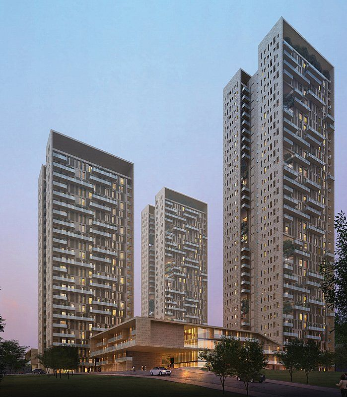 "SOM : Pioneer Park in Gurgaon, a city frequently referred to as the ""Silicon Valley"" of the New Delhi region"