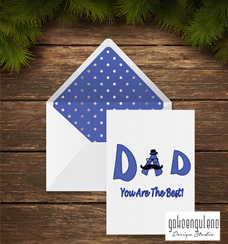 A personal favourite from my Etsy shop https://www.etsy.com/listing/275434564/printable-fathers-day-card-dad-you-are