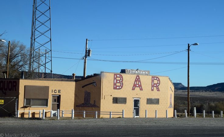 """"""" Tomahawk Bar """" in Prewitt New Mexico  """" Route 66 on My Mind """" Route 66 blog ; http://2441.blog54.fc2.com/ https://www.facebook.com/groups/529713950495809/ http://route66jp.info/"""