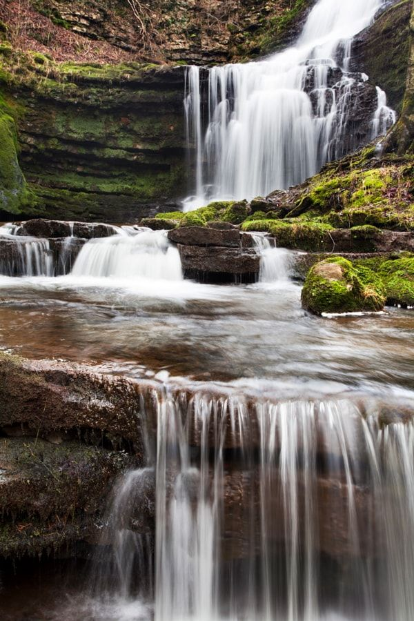 Scaleber Force (Foss Waterfall) near Settle (North Yorkshire, England) by robertharding / 500px