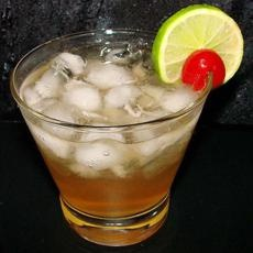 Soco lime and ginger ale