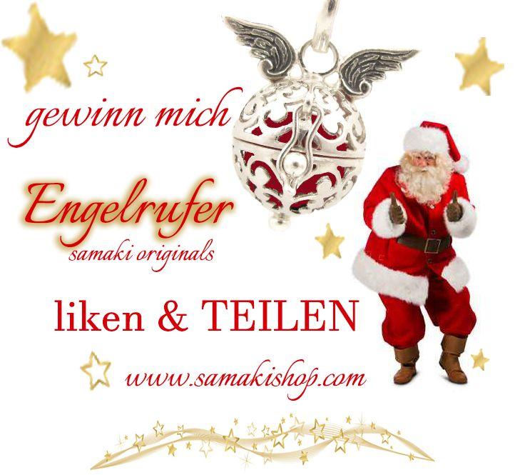 guten Morgen und einen fröhlichen Tag euch allen, wer mitmachen mag, hier unser aktuelles Gewinnspiel zu Nikolaus!   ... findet ihr auf facebook Engelrufer und Klangkugel Schmuck, eine Seite von www.samakishop.com https://www.facebook.com/Engelrufer/  #gewinnspiel #verlosung #engelrufer #themenschmuck #samakiengelrufer #samakiengelsrufer #engelsrufersamaki #engelrufersamaki #engelschmuck #nikolaus #weihnachtsmarkt