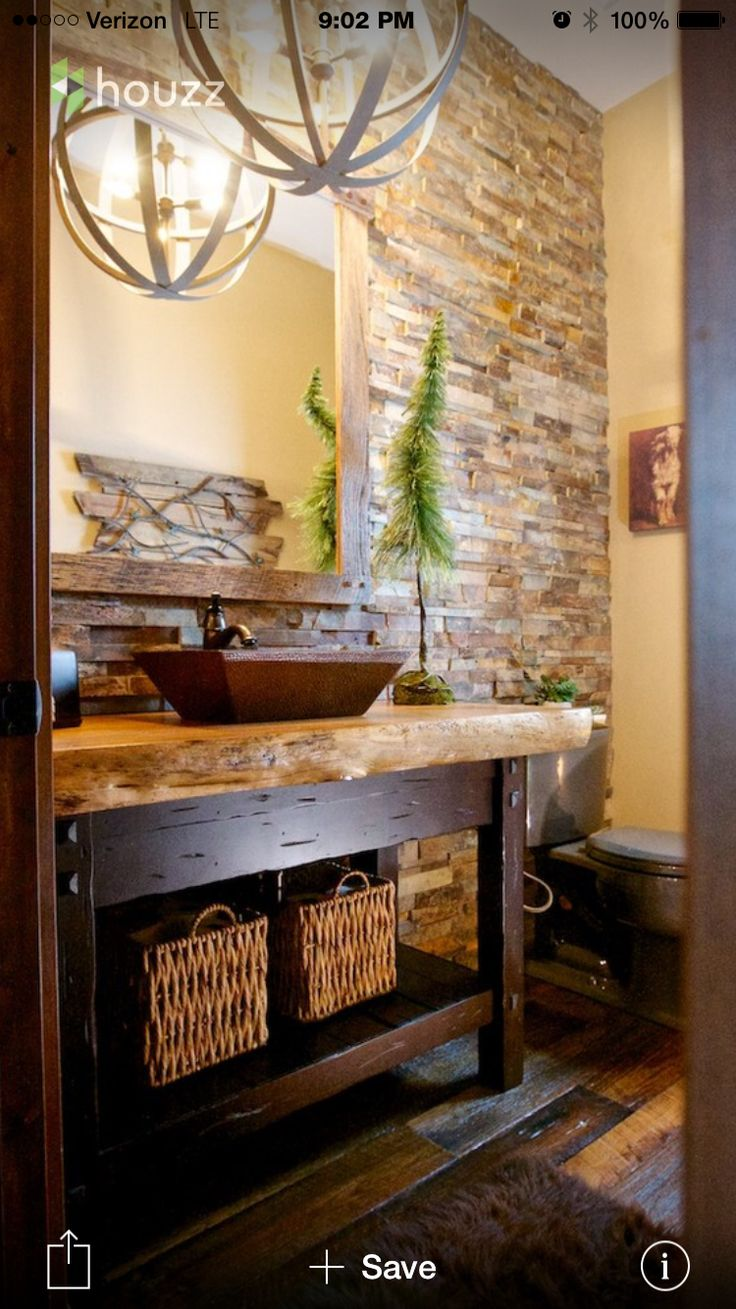 64 best new bathroom ideas images on pinterest bathroom ideas rustic powder room design ideas pictures remodel and decor
