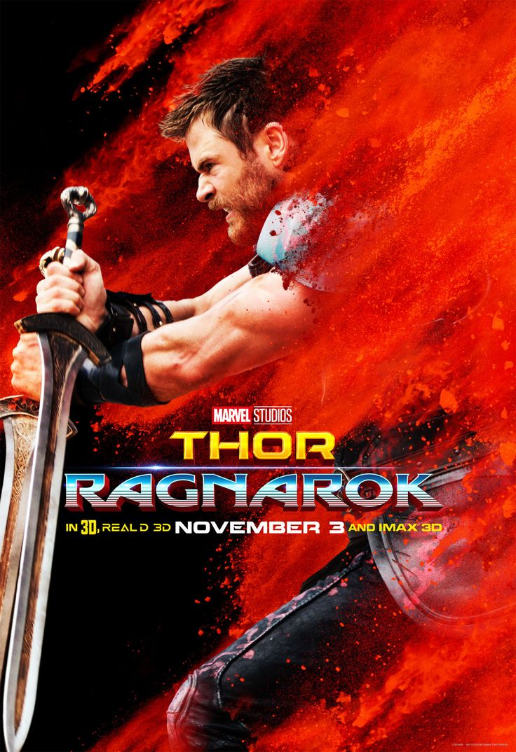 Thor: Ragnarok. Starring Chris Hemsworth, Tom Hiddleston, Cate Blanchett, Mark Ruffalo. Directed by Taika Waititi.