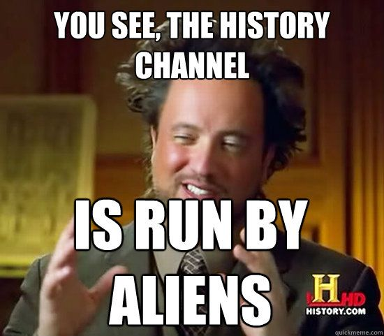 Ancient aliens hair timeline