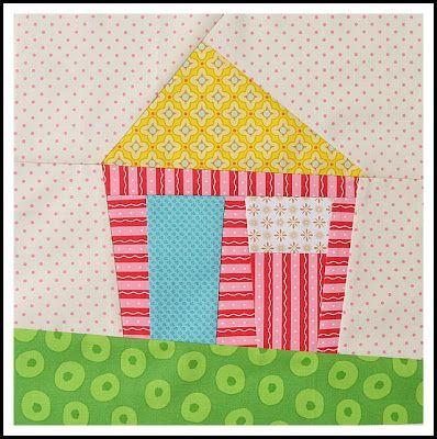 a lovely wonky house