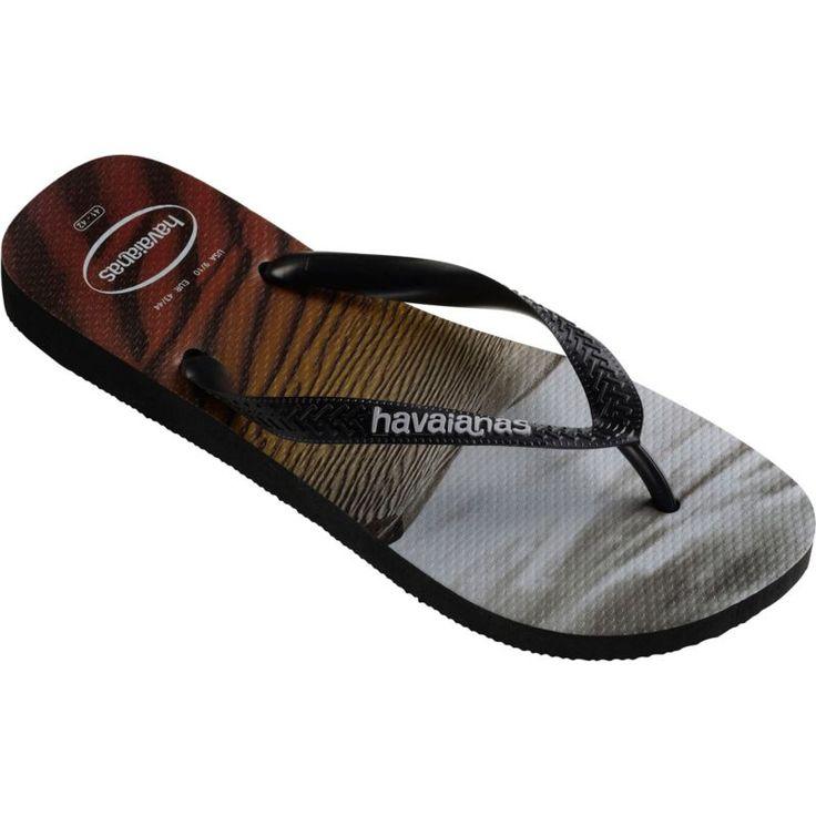 Havaianas Men's Hype Flip Flops, Black