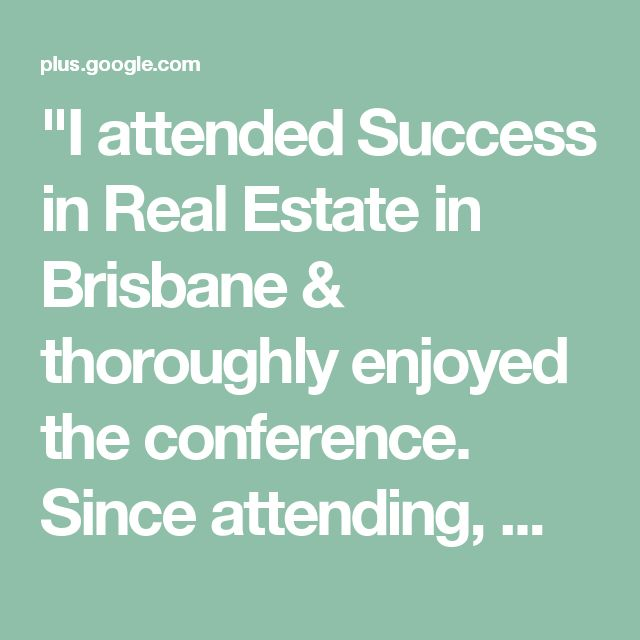 """I attended Success in Real Estate in Brisbane & thoroughly enjoyed the conference. Since attending, my partner & I have signed & listed 7 properties in 22 days.""  - David Edgar - Red Rocket Realty  Come join us at the next ""Success in Real Estate"" in Sydney this February!  Click here for more details: http://www.michaelkies.com.au/seminars/1812/"