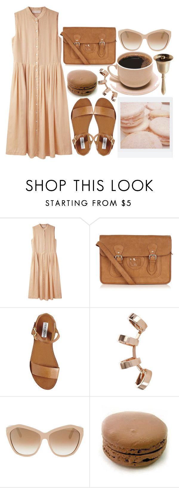 """She's daddy's favorite"" by mlleelena ❤ liked on Polyvore featuring Cacharel, Oasis, Steve Madden, Polaroid, Repossi and Tom Ford"