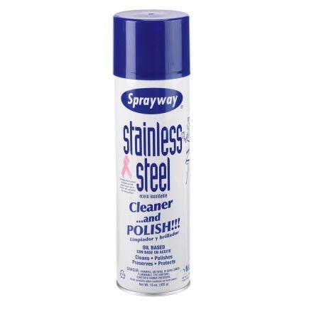 New Favorite Stainless Steel cleaner!!  Sprayway® Stainless Steel Cleaner & Polish