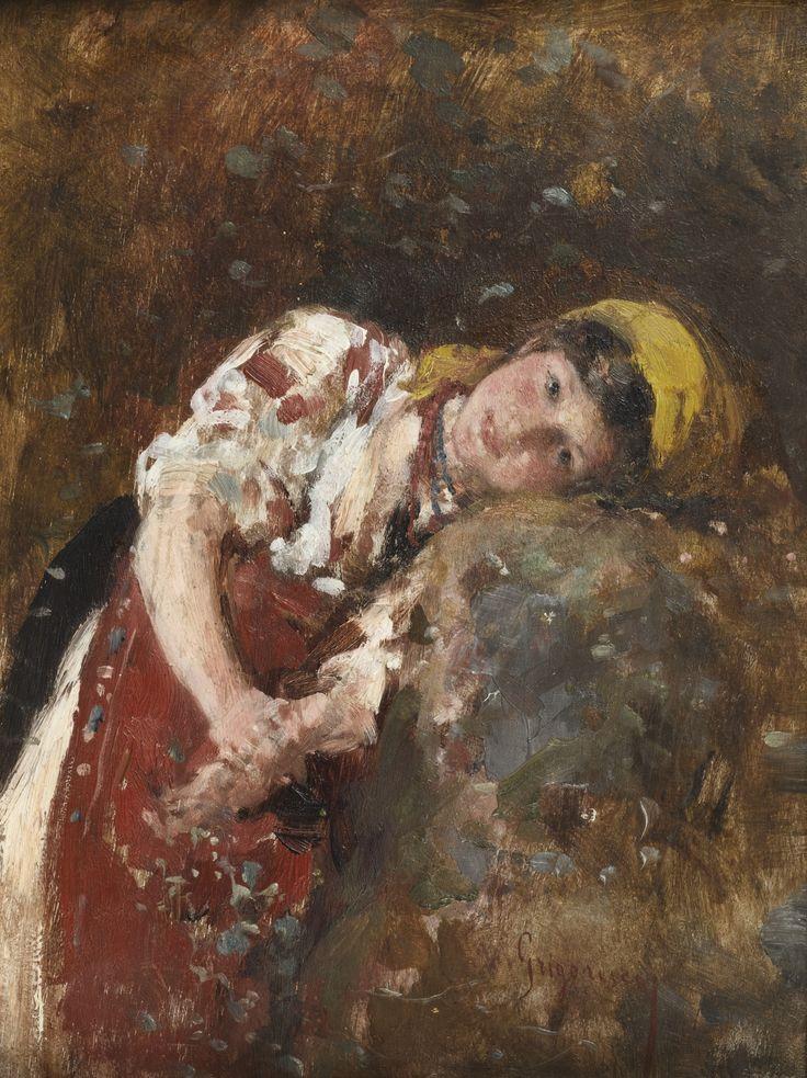 "Nicolae Grigorescu, ""Visare"" (""Daydreams"")"