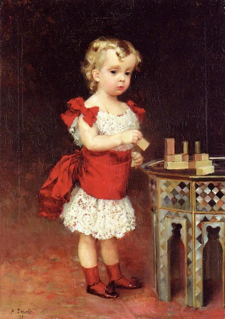 Albert Edelfelt That lil face reminds me of my nephew