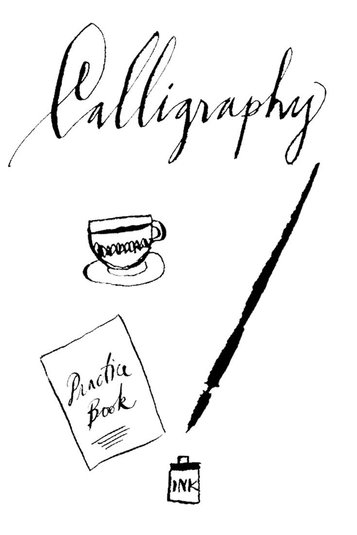420 Best Images About Calligraphy On Pinterest Fonts