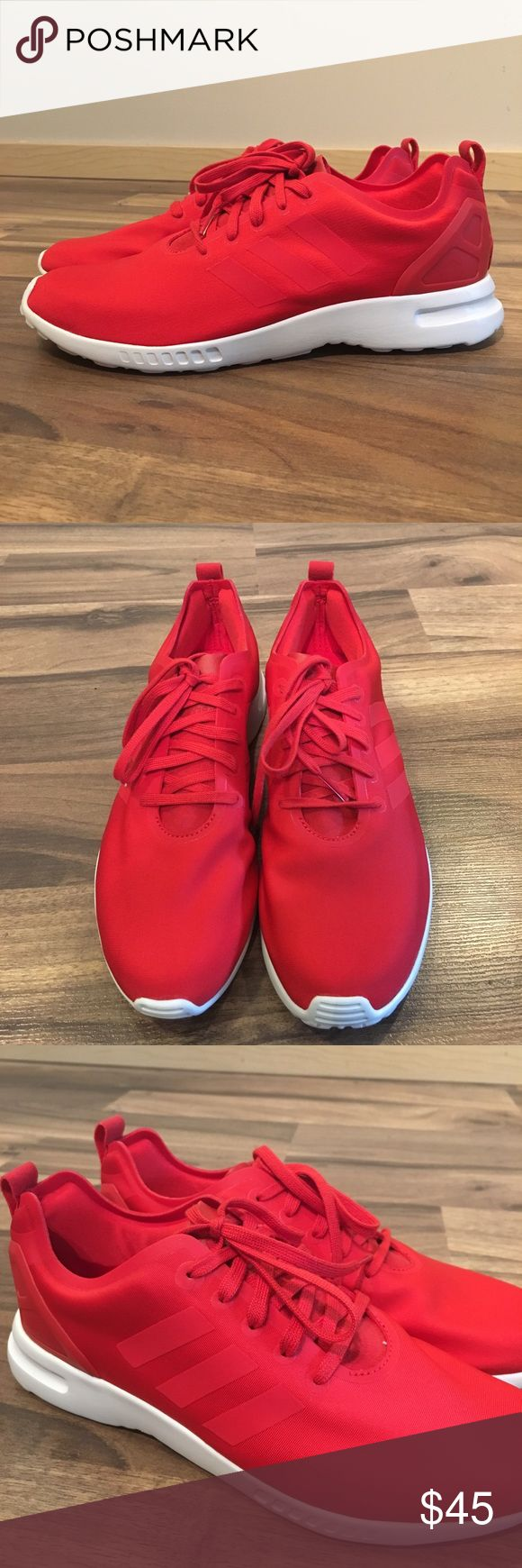 Adidas Shoes Red Color
