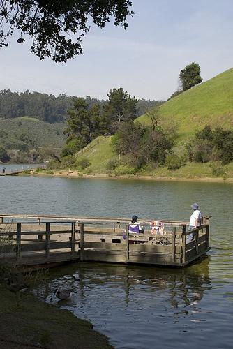 San leandro for Lake chabot fishing