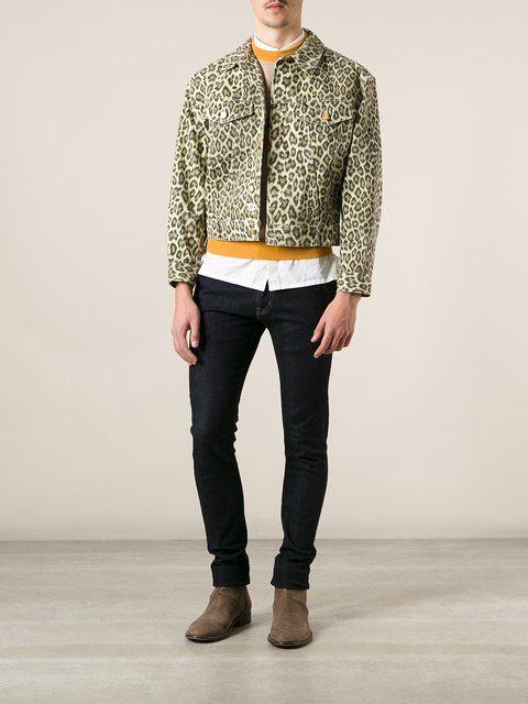 898bd5003bc09 Jean Paul Gaultier Vintage  Junior Gaultier  leopard denim jacket ...