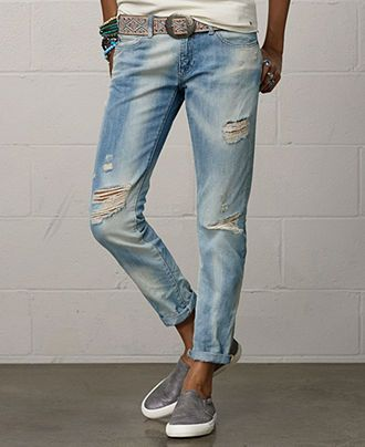 Denim & Supply Ralph Lauren Skinny Boyfriend Jeans, Calera Wash - Jeans -  Women -