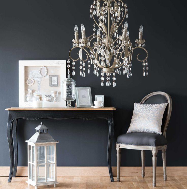 finest lustre pampilles en mtal beige d cm elisabeth. Black Bedroom Furniture Sets. Home Design Ideas