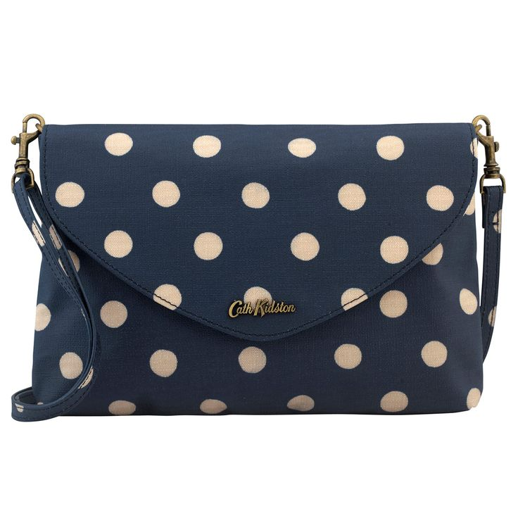 Button Spot Embossed Envelope Clutch | Cath Kidston |