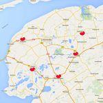 De Volkswagen-vestigingen van Autoland van den Brug bevinden zich in Franeker, Sneek, Heerenveen Drachten en Buitenpost \